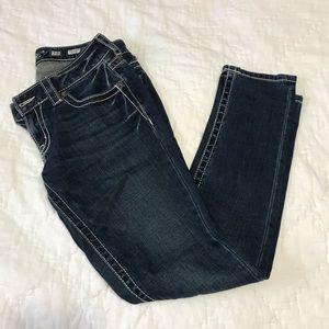 Miss Me Dark Skinny Jeans